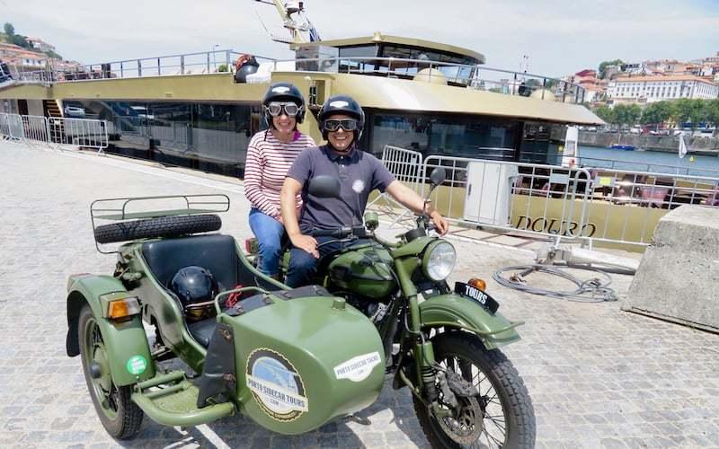 Douro River Cruise & Sidecar Tours