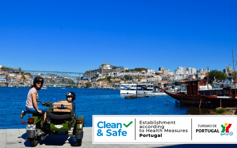 Seal Clean & Safe Certification from Tourism of Portugal